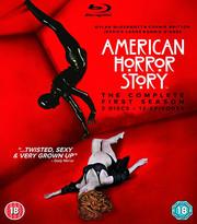 American Horror Story - Säsong 1 (Blu-ray) (ej svensk text)