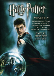 Harry Potter 1-5 Box (5-disc)
