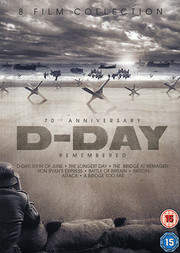 D-Day - 8 Film Collection (ej svensk text D-Day & Battle of Britain)