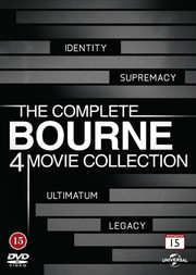 Bourne 4 Movie Collection