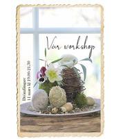 Workshop, Drömfångare med torkade blommor och blad, 11 mars