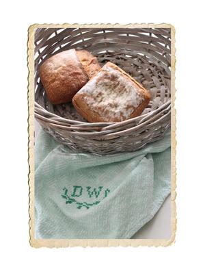 Rund brödkorg