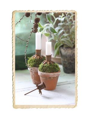Ljushållare i blomform