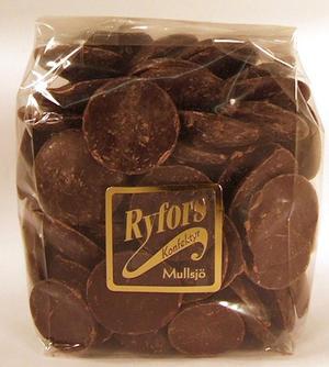 Chokladplattor, mörk 70%