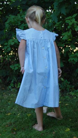 Klänning i gammal stil