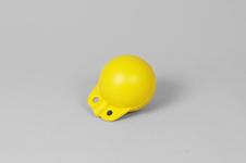 4' Garnblåsa, hård, gul