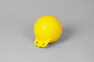 Garnblåsa, hård, 6', gul
