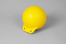 Garnblåsa, hård, 8', gul