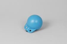 Garnblåsa, hård, 4', blå