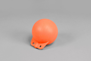 Garnblåsa, hård, 6', orange