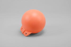 Garnblåsa, hård, 8', orange