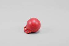 Garnblåsa, hård, 4', röd