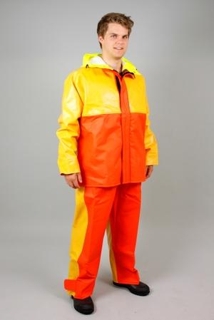 Guy Cotten –  Byxa X-trapper, orange/gul