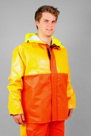 Guy Cotten –  Jacka Isopro, orange/gul