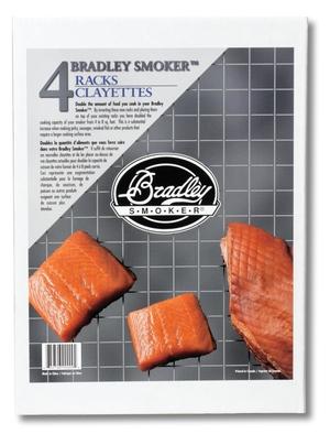 Extra galler till rök Bradley Smoker, 4-pack