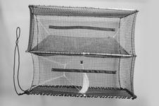 Torskbur Large, en ingång strömställande
