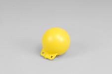 Garnblåsa, hård, 5', gul