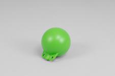 Garnblåsa, hård, 5', ljusgrön