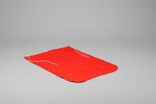 Bojflagga, Dacron, 50x70cm, röd