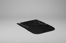 Bojflagga, Dacron, 50x70cm, svart