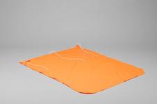 Bojflagga, Dacron, 70x90cm, orange