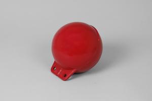 Garnblåsa, mjuk, 6', röd
