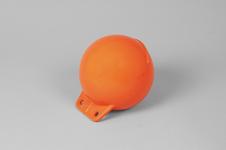 Garnblåsa, mjuk, 6', orange