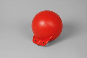 Garnblåsa, hård, 8', röd
