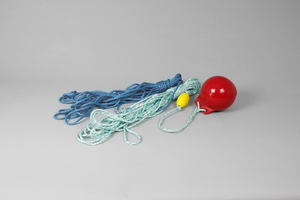 Complete Rope & Bouy Product, Red