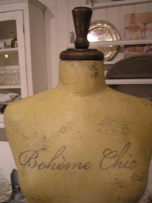Dekorativ provdocka Bohème Chic