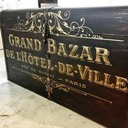 Svart kista Grand Bazar
