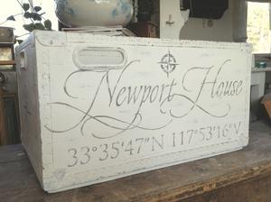 Stor förvaringslåda Newport House