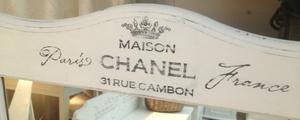 Spegel shabby chic Maison Chanel
