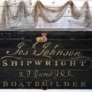 Antik kista skeppsbyggare