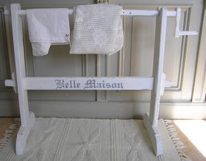 Hängare Belle Maison till handdukar eller överkast