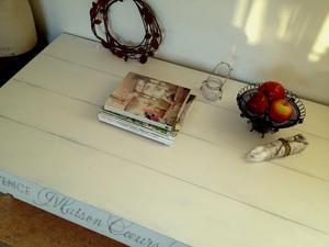Stort lågt soffbord Maison Coeurs Blancs