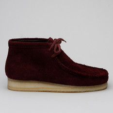 Clarks Wallabee Boot Burgundy Intrest