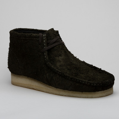 Clarks Wallabee Boot Dark Green