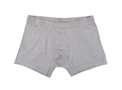 The Product Men Boxer 2-Pack Grey Melang