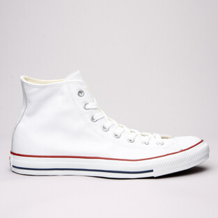 Converse All Star Leather Hi White