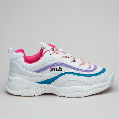 Fila Ray Low Wmn White/Every Berry