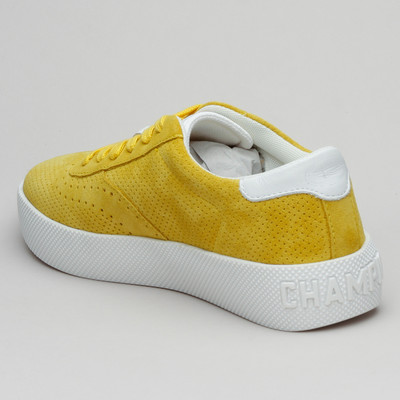 Champion Low Suede Micropunched  Yellow