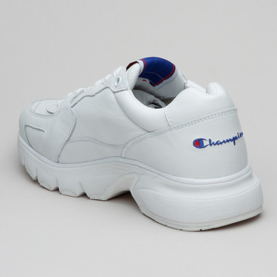 Champion Rochester Leather Low Cut Wht/Wht