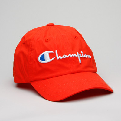 Champion Baseball Cap Red