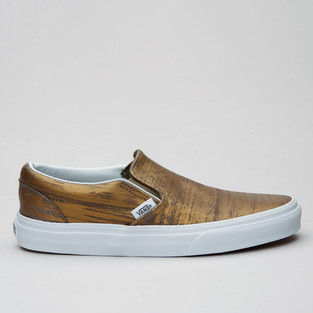Vans Slip-On (Brushed Metallic) Gold