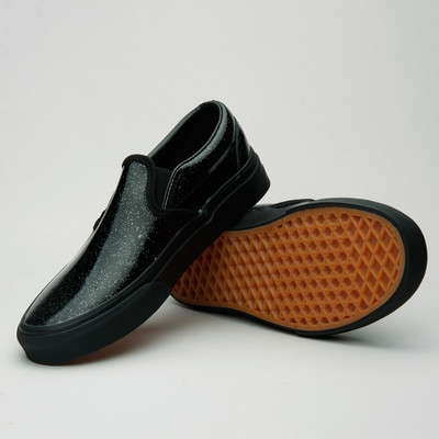 Vans Slip-On (Patent Galaxy) Black/Black