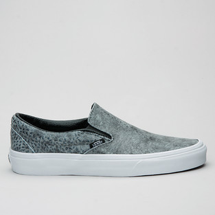 Vans Slip-On (Pebble Snake) Gray/Blk