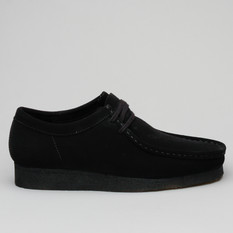 Clarks Wallabee Suede Black