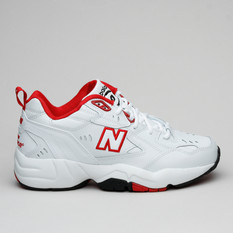 New Balance WX608TR1 White/Team Red