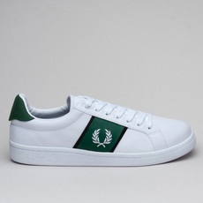 Fred Perry B721 Canvas White